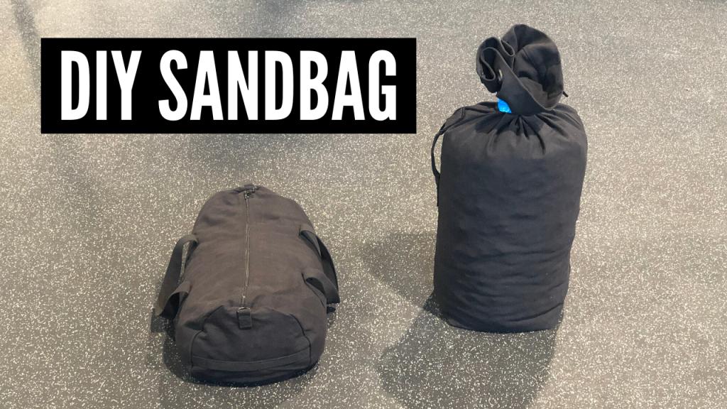 DIY Sandbag for Under $40